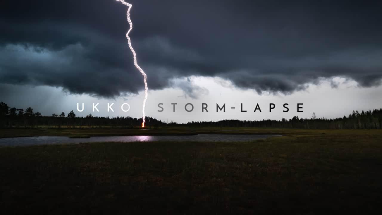 UKKO storm-lapse
